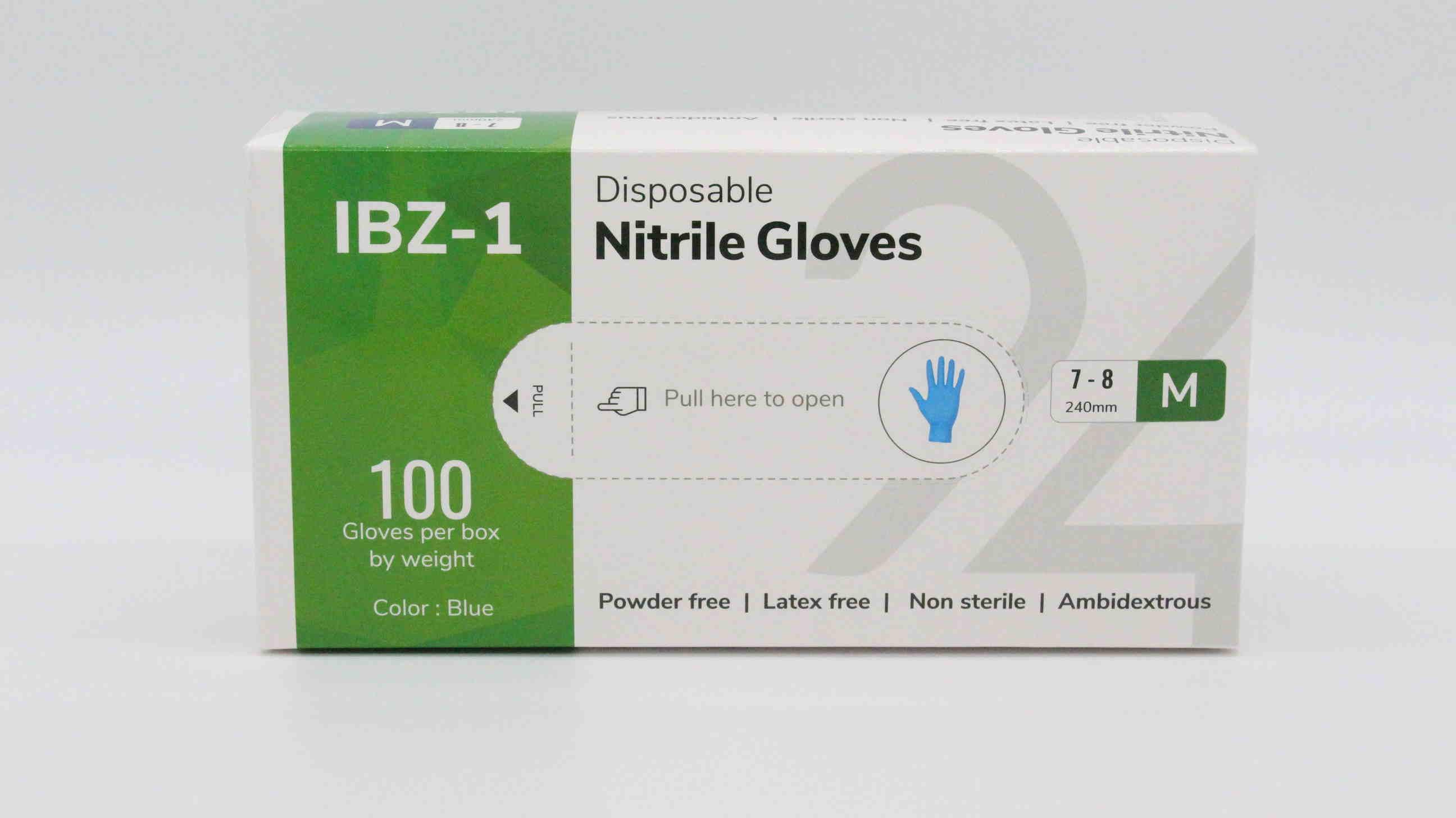 Nitril Handschuhe Gr. M