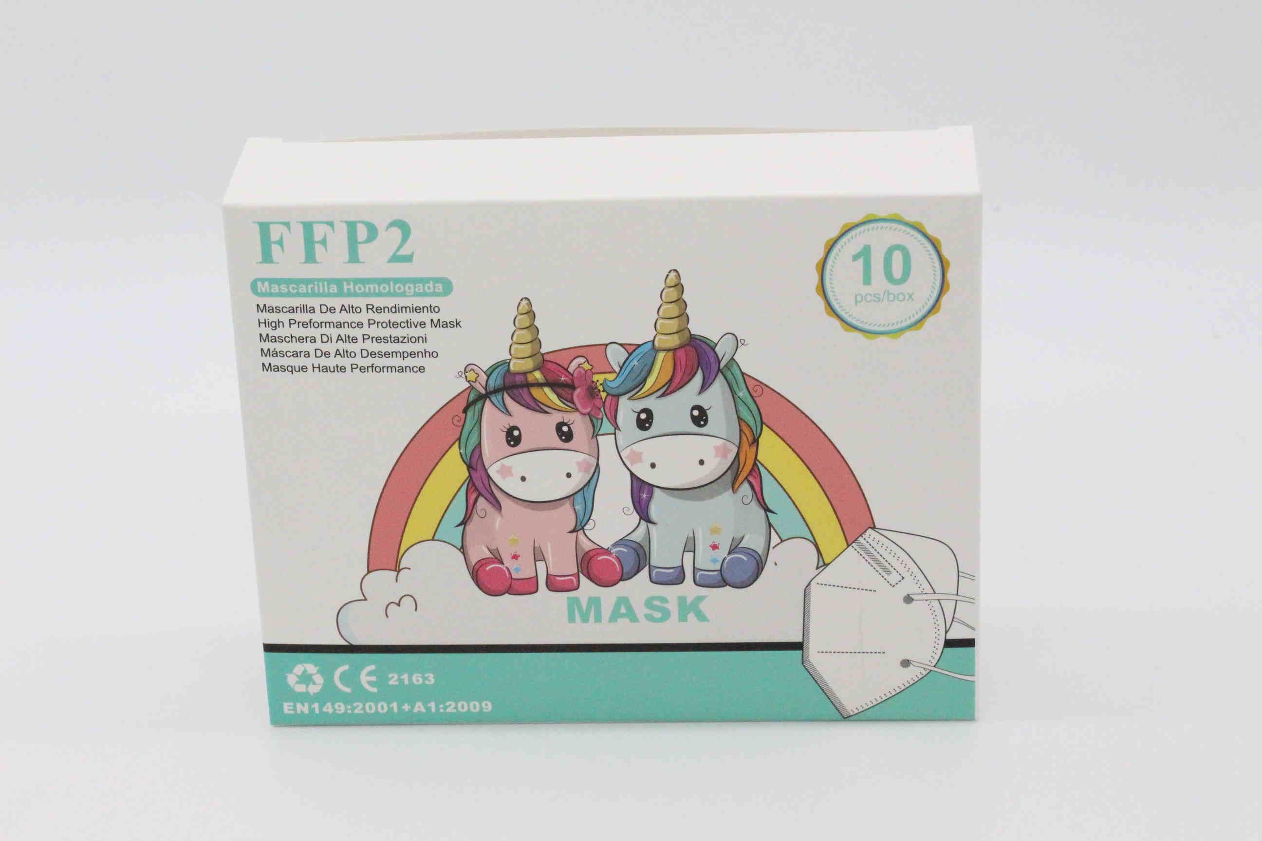 Kinder FFP2 Maske Farbe: weiß