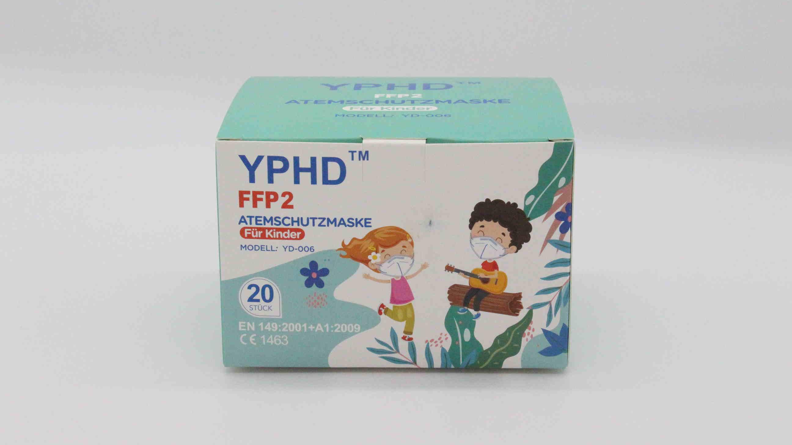 FFP2 Atemschutzmaske für Kinder