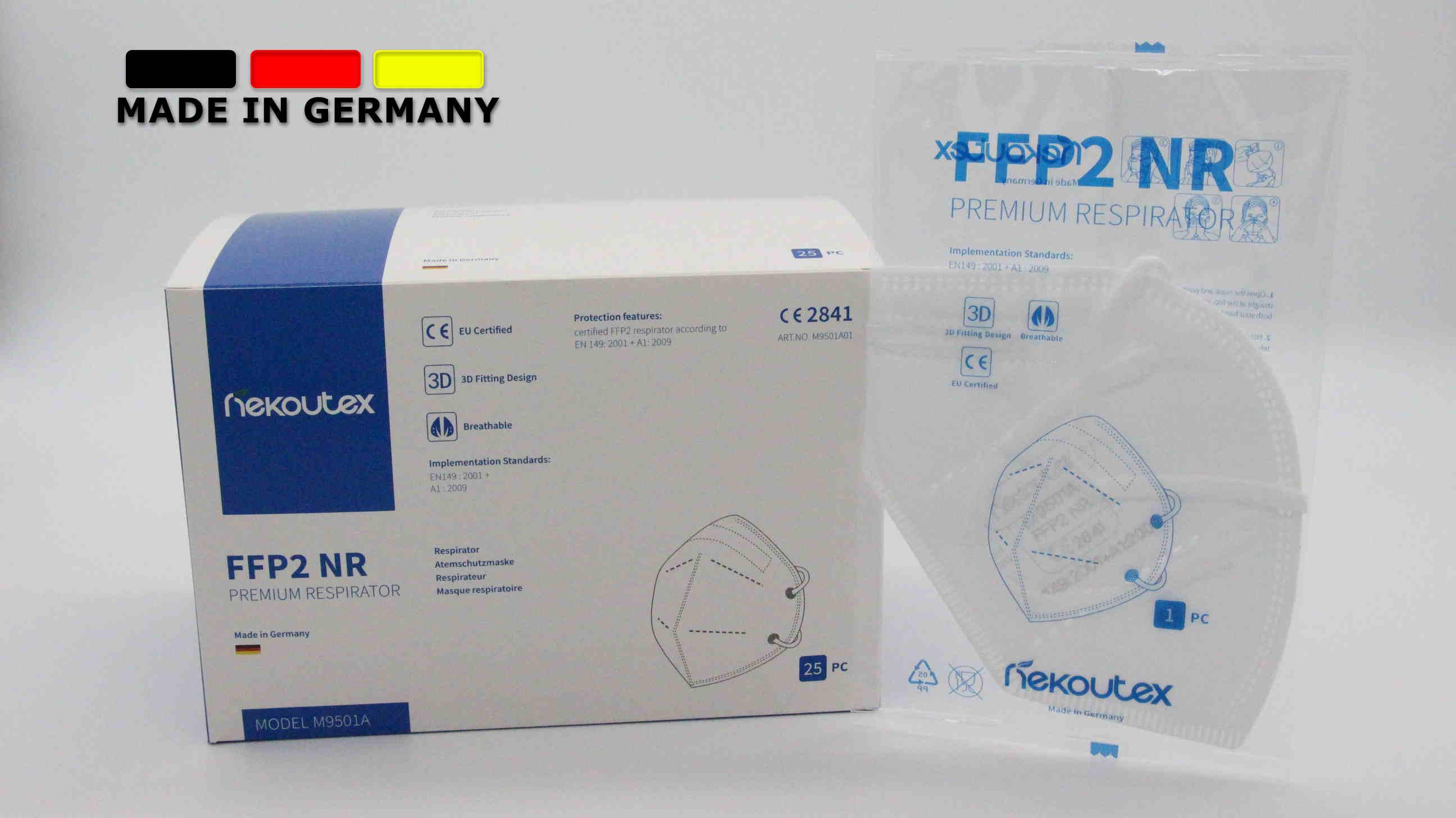 Nekoutex FFP2 Maske Made in Germany