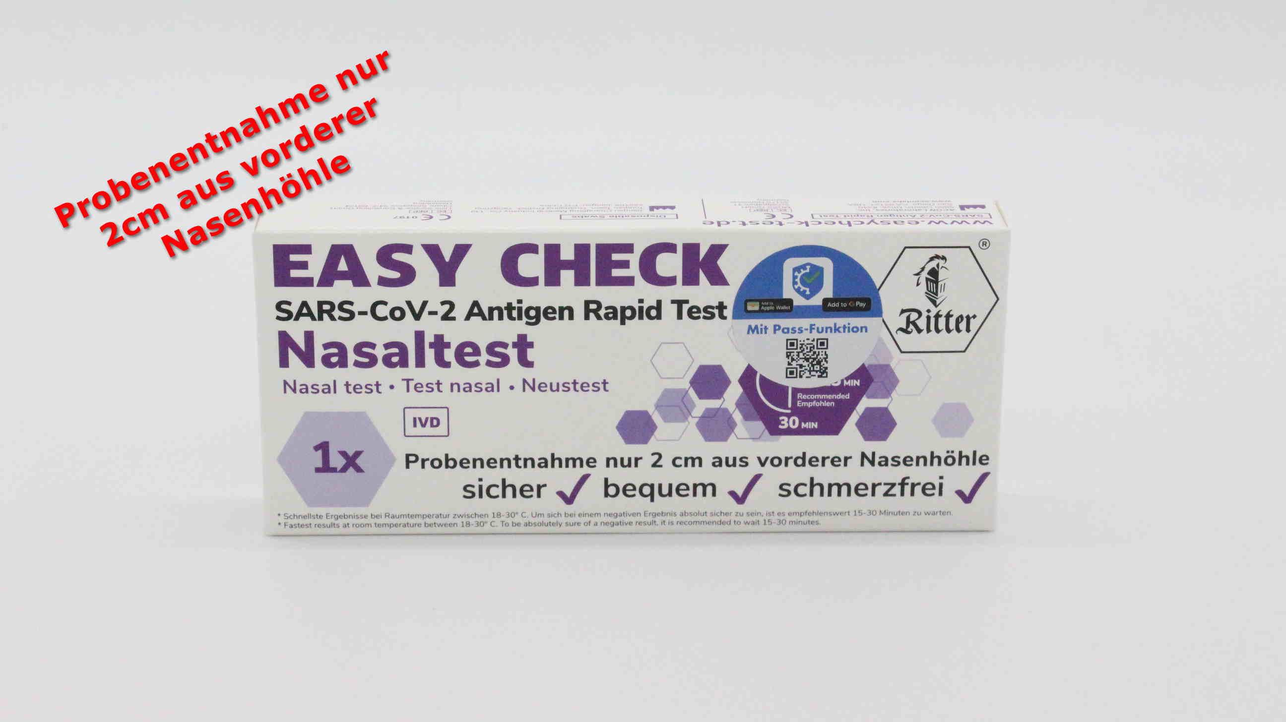 Ritter Nasal Antigen-Schnelltest